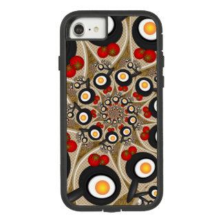 Capa iPhone 8/ 7 Comida engraçada da arte do Fractal da refeição