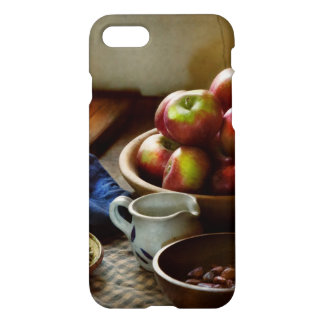 Capa iPhone 8/7 Comida - fruta - apronte para o pequeno almoço