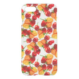 Capa iPhone 8/7 Comida quente alaranjada das pimentas vermelhas