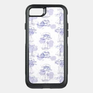 Capa iPhone 8/7 Commuter OtterBox A aguarela acena & envia o teste padrão