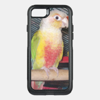 Capa iPhone 8/7 Commuter OtterBox Abacaxi Greencheek Conure mim caso Phone7