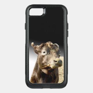 Capa iPhone 8/7 Commuter OtterBox Acobarde a mastigação do feno, caso do iPhone sete