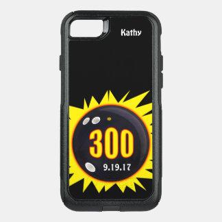 Capa iPhone 8/7 Commuter OtterBox Amarelo personalizado e preto do jogo 300 perfeito