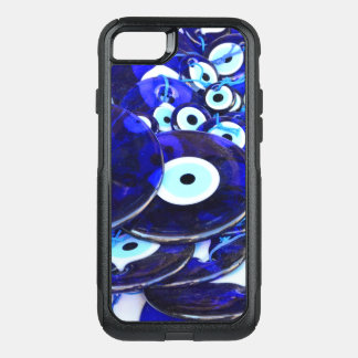 Capa iPhone 8/7 Commuter OtterBox Amuletos azuis do olho mau