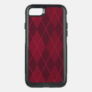 Capa iPhone 8/7 Commuter OtterBox Argyle vermelho