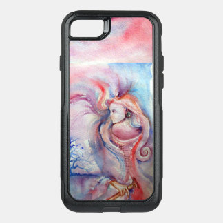 Capa iPhone 8/7 Commuter OtterBox AVALON/fantasia azul cor-de-rosa da mágica e do