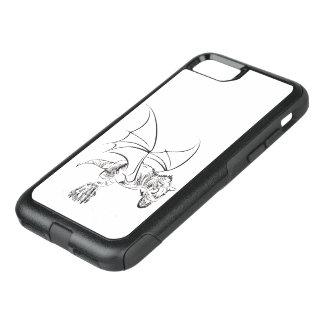 Capa iPhone 8/7 Commuter OtterBox Balizas aladas de rap/Tribal