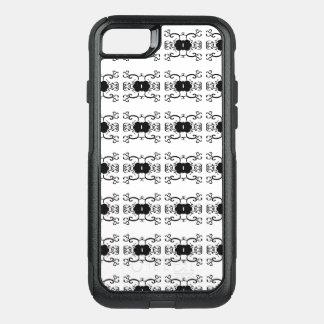 Capa iPhone 8/7 Commuter OtterBox BRANCO clássico chique da ELEGÂNCIA das capas de