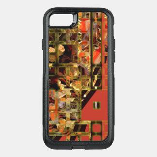 Capa iPhone 8/7 Commuter OtterBox Caixa vermelha asiática da caixa da lontra