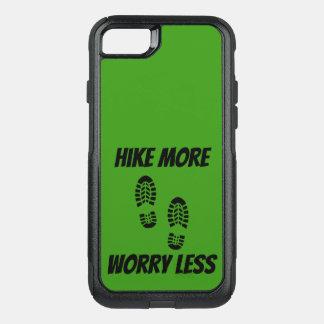 Capa iPhone 8/7 Commuter OtterBox Caminhada verde mais preocupação menos capa de
