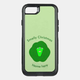 Capa iPhone 8/7 Commuter OtterBox Capa de telefone Smelly da couve de Bruxelas do