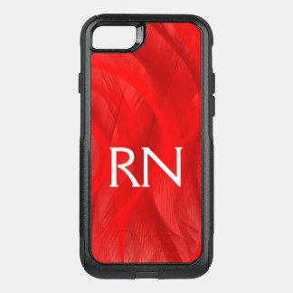 Capa iPhone 8/7 Commuter OtterBox Capa de telefone vermelha do RN do redemoinho