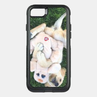 Capa iPhone 8/7 Commuter OtterBox capas de iphone adoráveis do filhote de cachorro
