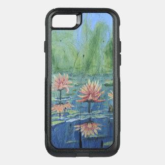 Capa iPhone 8/7 Commuter OtterBox Capas de iphone emocionantes coloridas dos lírios