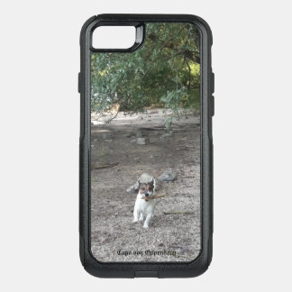 Capa iPhone 8/7 Commuter OtterBox Capo von Oppenheim Jack Russell Terrier, cão