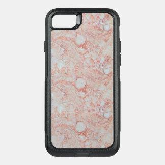 Capa iPhone 8/7 Commuter OtterBox Caso de mármore cor-de-rosa de Otterbox