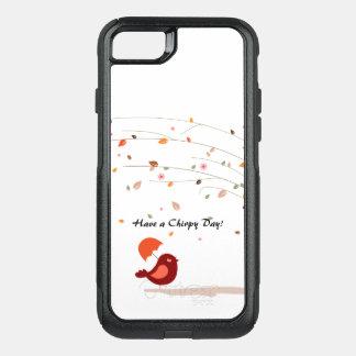 Capa iPhone 8/7 Commuter OtterBox Caso de Otterbox Smartphone com pássaro e natureza