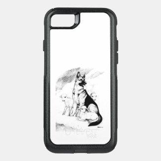 Capa iPhone 8/7 Commuter OtterBox Céu do cão, o rebanho do mestre