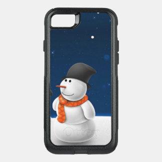 Capa iPhone 8/7 Commuter OtterBox Cobrir da capa de telefone da neve do feriado do