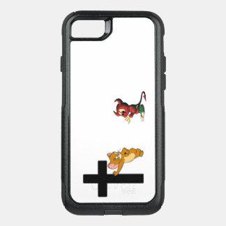Capa iPhone 8/7 Commuter OtterBox Cobrir da capa de telefone do amor da fé de Jesus