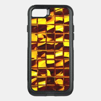 Capa iPhone 8/7 Commuter OtterBox cobrir da capa de telefone dos bares de ouro