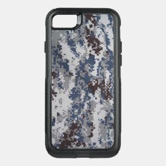 Capa iPhone 8/7 Commuter OtterBox Cobrir digital da capa de telefone do camo do