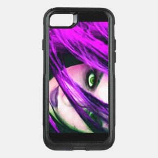 Capa iPhone 8/7 Commuter OtterBox Cobrir roxo da capa de telefone dos trabalhos de