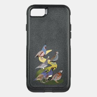 Capa iPhone 8/7 Commuter OtterBox Codorniz de BennuBirdy de America do Norte (nenhum