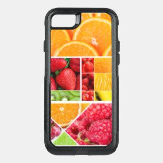 Capa iPhone 8/7 Commuter OtterBox Colagem da fruta da mistura