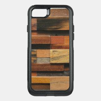 Capa iPhone 8/7 Commuter OtterBox Colagem de madeira Textured multicolorido