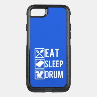 Capa iPhone 8/7 Commuter OtterBox Coma a capa de telefone engraçada do cilindro do