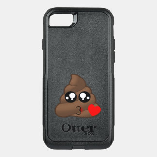 Capa iPhone 8/7 Commuter OtterBox Corações & tombadilho Emojis