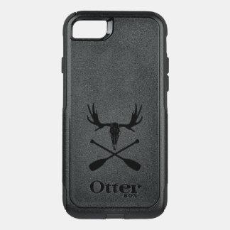 Capa iPhone 8/7 Commuter OtterBox Crânio dos alces e pás cruzadas