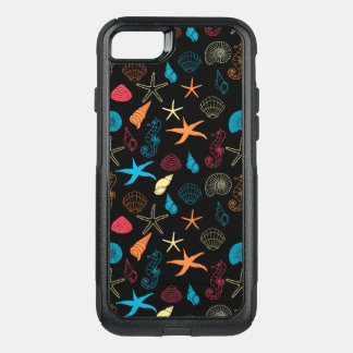Capa iPhone 8/7 Commuter OtterBox Criaturas coloridas do mar