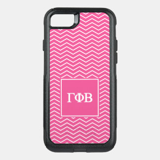 Capa iPhone 8/7 Commuter OtterBox Da gama beta   Chevron teste padrão da phi