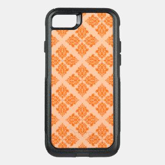 Capa iPhone 8/7 Commuter OtterBox Damasco do marroquino da tangerina