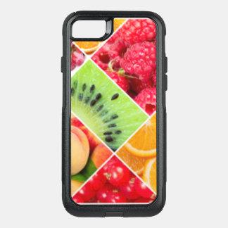 Capa iPhone 8/7 Commuter OtterBox Design colorido do teste padrão da colagem da