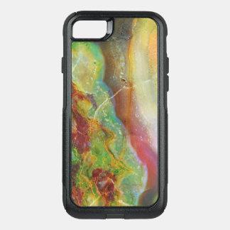 Capa iPhone 8/7 Commuter OtterBox Design de mármore abstrato colorido 4 dos