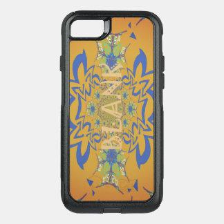 Capa iPhone 8/7 Commuter OtterBox Design de texto floral vazio original bonito