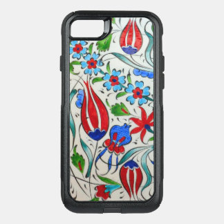 Capa iPhone 8/7 Commuter OtterBox Design floral turco