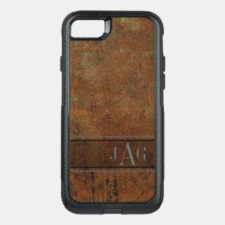 Capa iPhone 8/7 Commuter OtterBox Design Textured Brown antigo