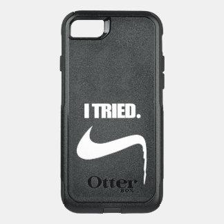 Capa iPhone 8/7 Commuter OtterBox Engraçado eu tentei e falhei