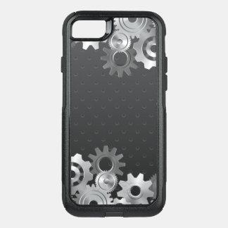 Capa iPhone 8/7 Commuter OtterBox Engrenagem de prata