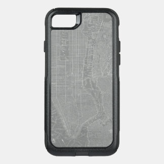 Capa iPhone 8/7 Commuter OtterBox Esboço do mapa da Nova Iorque