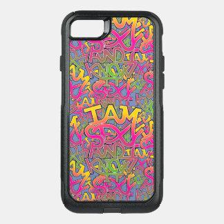 "Capa iPhone 8/7 Commuter OtterBox Eu sou ""sexy"" e eu sei-o - grafites"