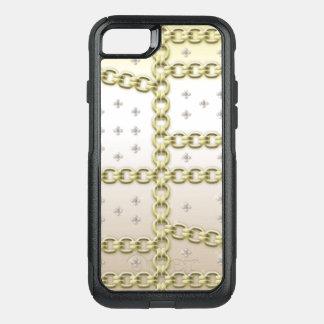 Capa iPhone 8/7 Commuter OtterBox Flor do diamante da cidade do fecho da relação do