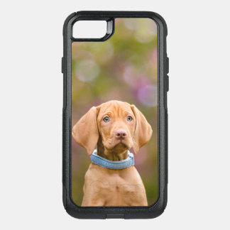 Capa iPhone 8/7 Commuter OtterBox Foto puppyeyed bonito do filhote de cachorro do