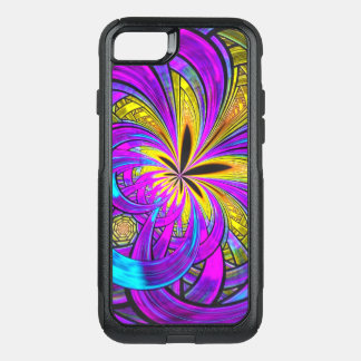 Capa iPhone 8/7 Commuter OtterBox Fusão abstrata