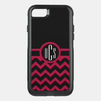 Capa iPhone 8/7 Commuter OtterBox Grandada customizável e monograma preto
