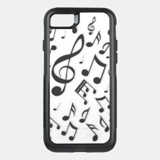 Capa iPhone 8/7 Commuter OtterBox Impressão preto & branco do alinhador longitudinal
